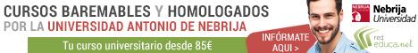 Cursos Baremables y Homologados de Euroinnova - Nebrija Universidad